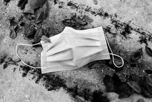 Discarded Mask
